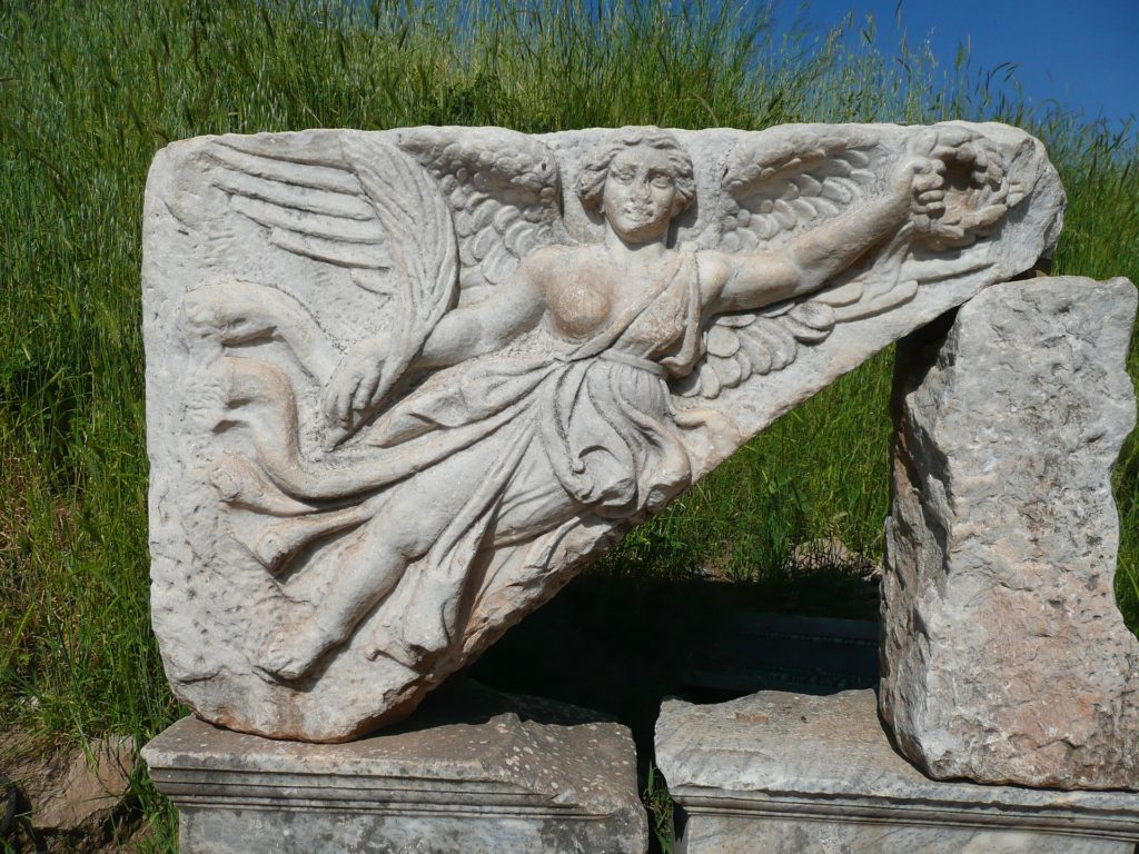 Nike, Goddess of Victory: Inspiration behind the logo