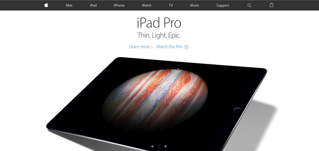 Apple's simplicity